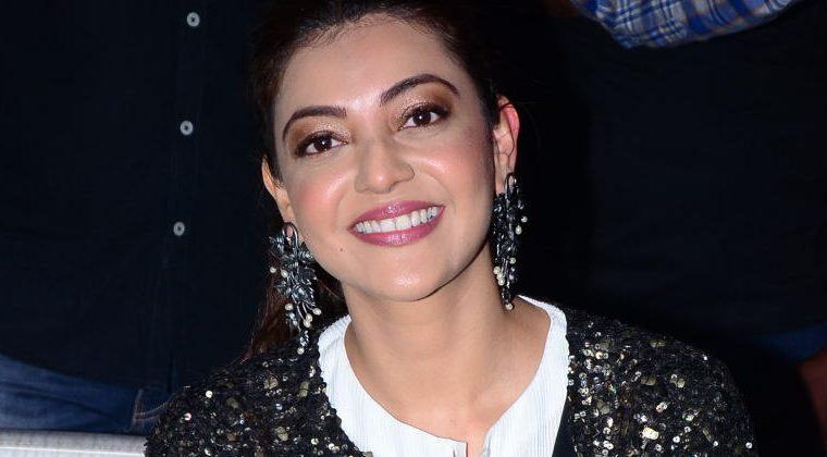 Kajal Aggarwal in black outfit