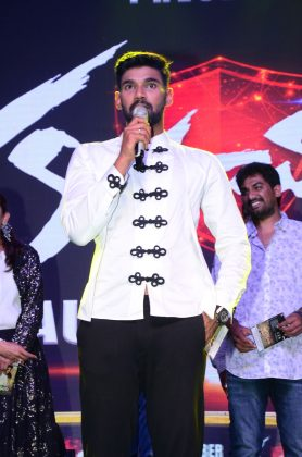 Bellamkonda Sai Sreenivas at Kavacham Audio Launch