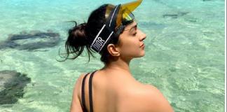Kiara Advani Exposes Flawless Back in Bikini
