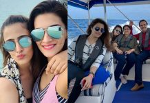 Kriti Sanon Family Vacation Photos