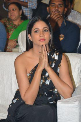 Lavanya Tripathi at Antariksham 9000 KMPH Movie Pre Release Event Photos