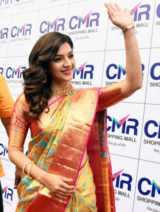 Mehreen at CMR Shopping Mall Launch