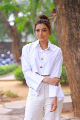 Milky White Queen Kajal Aggarwal Stills