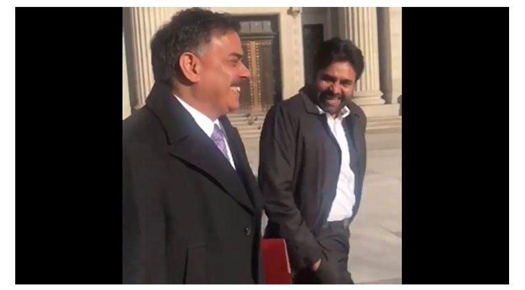 Pawankalyan in washington