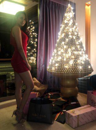 Pragya Jaiswal Christmas Celebration Photos