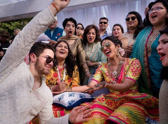 Priyanka Chopra Nick Jonas Mehendi Photos