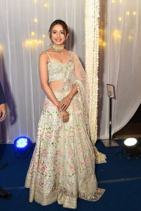 Rakul Preet Saina Nehwal Praupalli Kshayap Wedding Reception Photos (1)