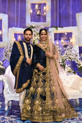 Saina Nehwal Praupalli Kshayap Wedding Reception Photos (2)