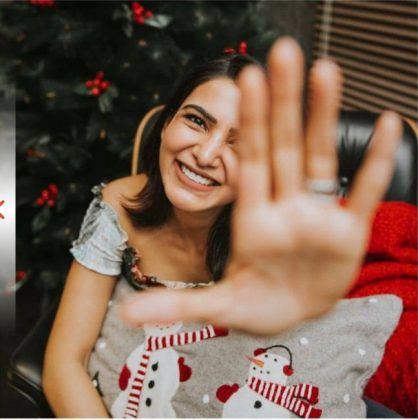 Samantha Kick Starts Christmas Celebrations Photos