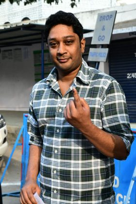 Tollywood Actors Cast Their Votes in Telangana Elections Set 2