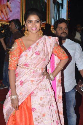 Vinaya Vidheya Rama Pre Release Event Photos