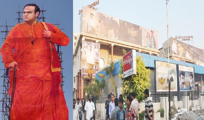 balakrishna to visit brahmaramba and mallikarjuna theaters