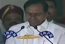 kcr swearing in ceremony