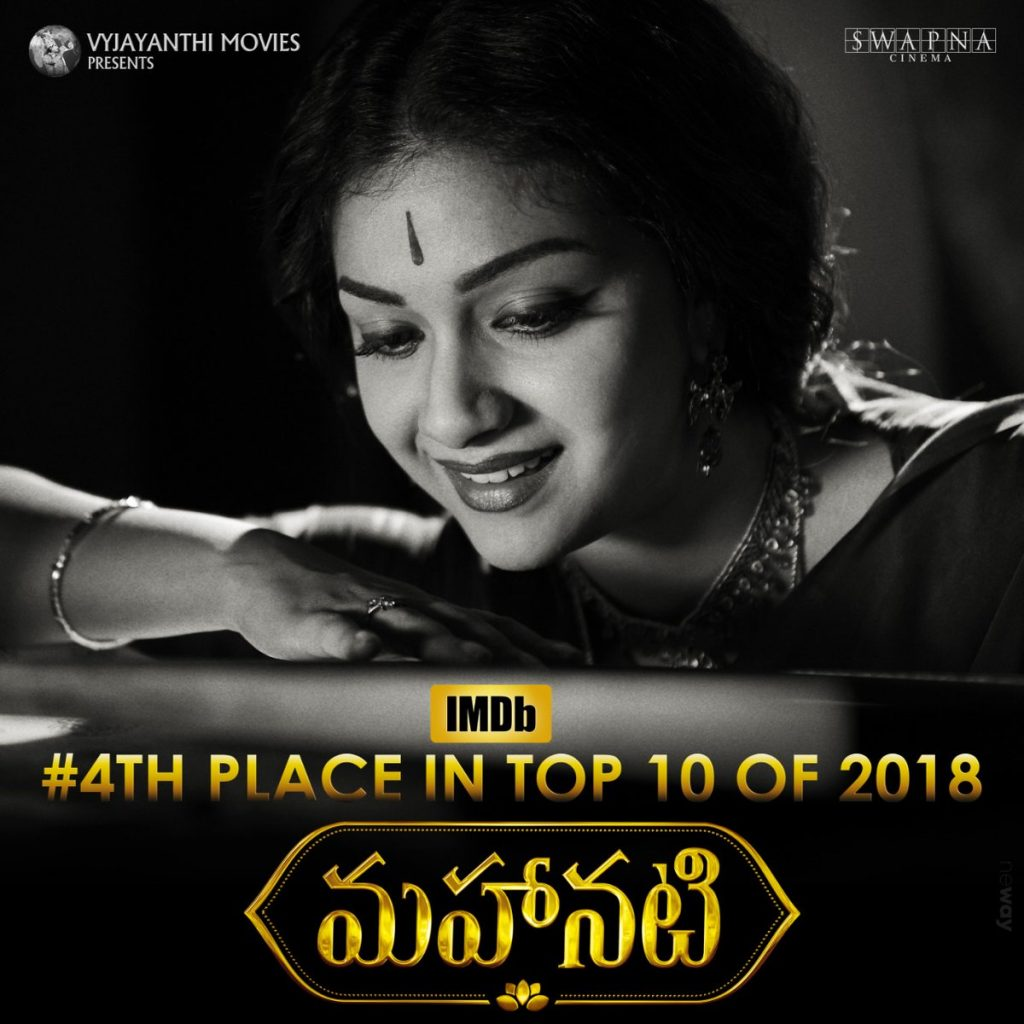 Mahanati IMBD 4th rank