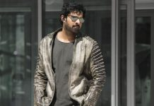 prabhas with supermodel for saaho