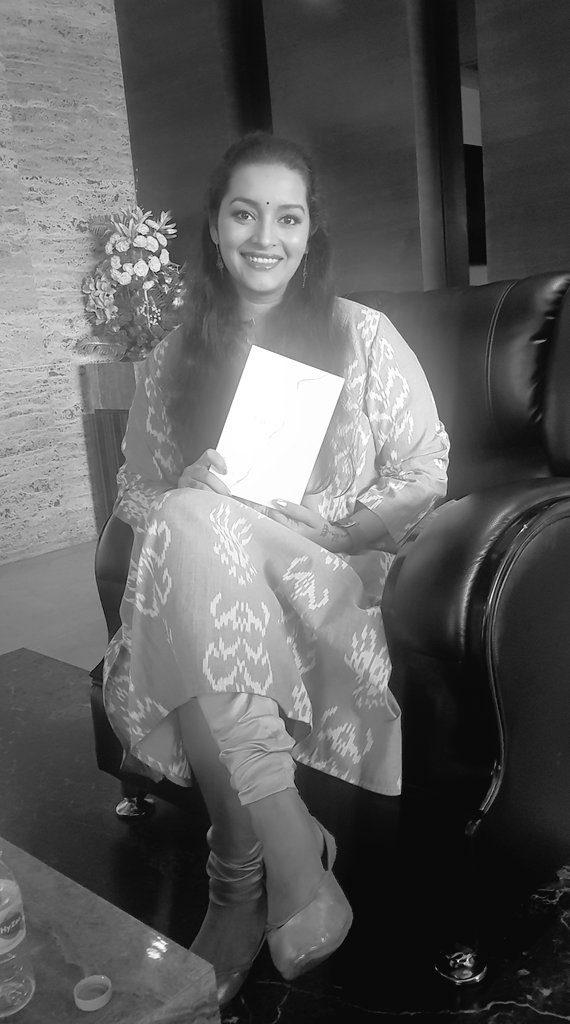Renu Desai Releases A Book