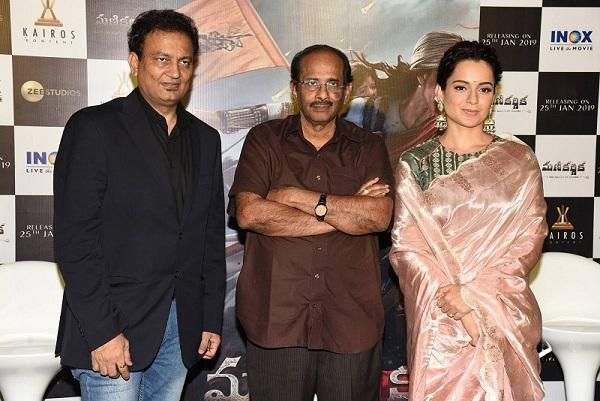 Kangana Ranaut Manikarnika Telugu Trailer Launch