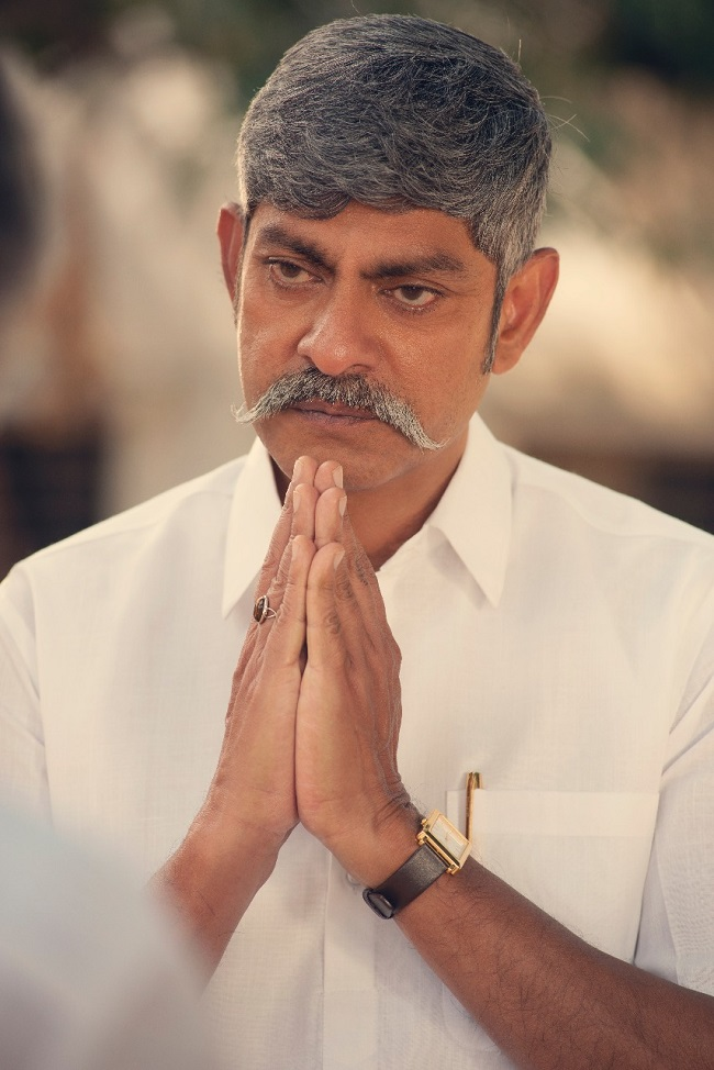 jagapathi babu look as ys raja reddy