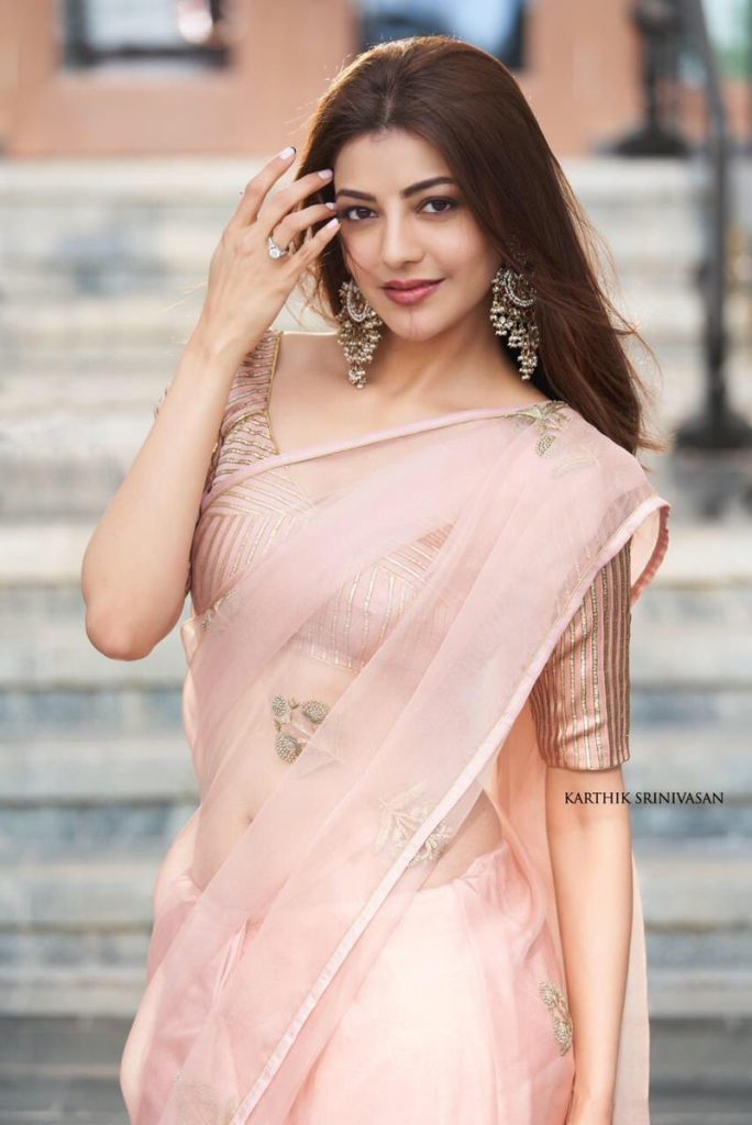 kajal aggarwal at indian 2 launch photos
