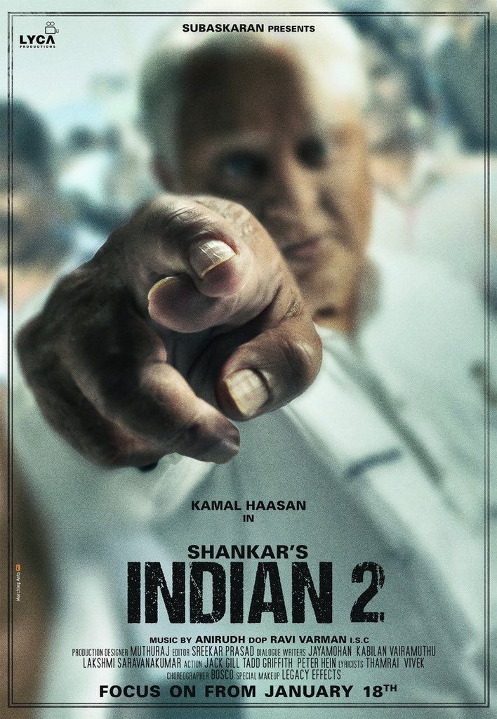 kamal haasan shankar indian 2