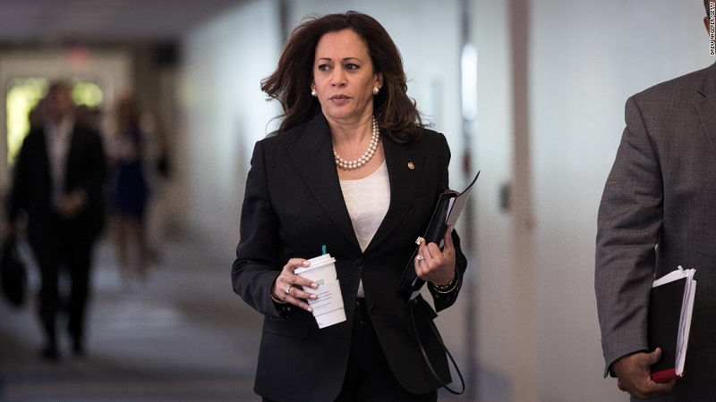 kamala harris for usa president 2020 against Donald Trump