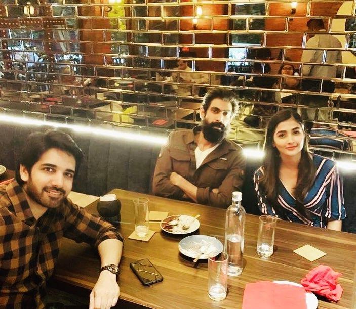 rana pooja hegde sushant mumbai party