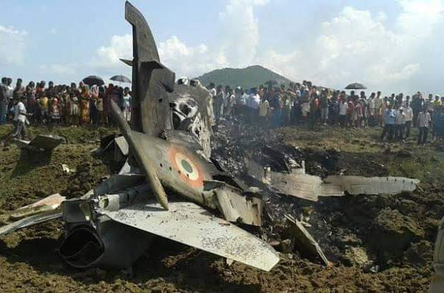 Indian Airforce chopper crashed in budgam