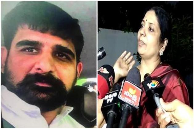 jeevitha rajasekhar complaint on koushik congress leader