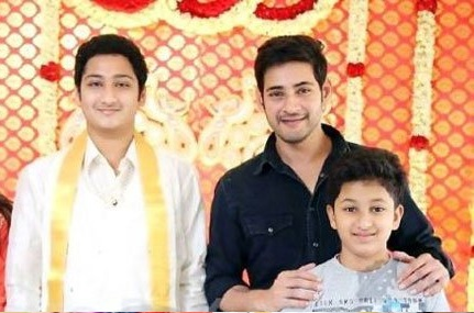 mahesh babu brother son