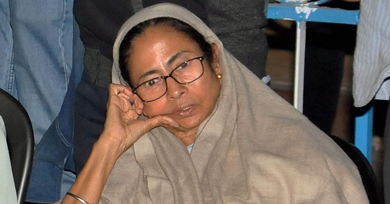 mamata banerjee stand off with nda led center