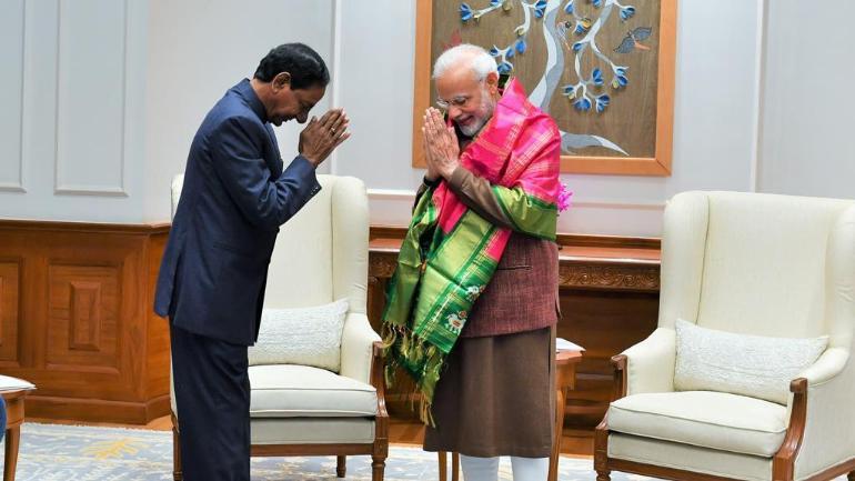 narendra modi adopts kcr rythu bandhu