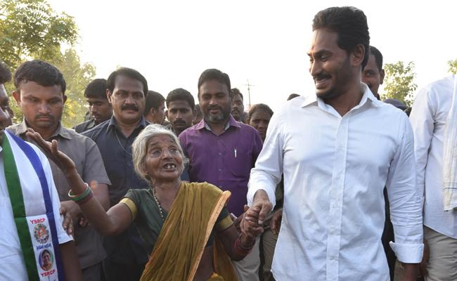 ys jagan promises to hike pension to senior citizens